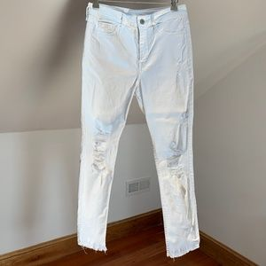 Hollister Crop High Rise Jeans
